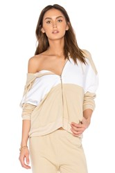 Wildfox Couture Basics Hoodie Beige