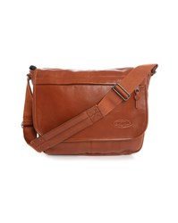 Eastpak Camel Delegate Leather Bag