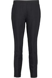 Theory Thaniva Crepe Skinny Pants Blue