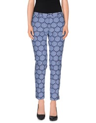 New York Industrie Trousers Casual Trousers Women Slate Blue