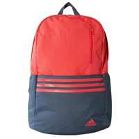Adidas Three Stripe Versatile Backpack Pink Grey
