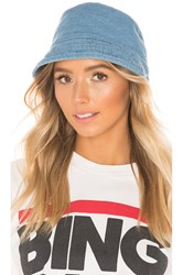 Hat Attack Washed Cotton Bucket Light Denim