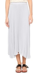 Ramy Brook Lola Maxi Skirt Silver