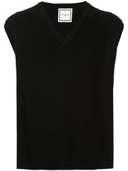 Wooyoungmi Sweater Vest Black