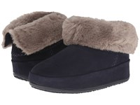 Fitflop Mukluk Shorty Super Navy Women's Slippers
