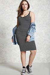 Forever 21 Plus Size Striped Cami Dress
