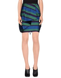 Gianfranco Ferre Gf Ferre' Skirts Mini Skirts Women Blue