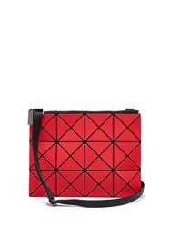 Bao Bao Issey Miyake Lucent Cross Body Pouch Red