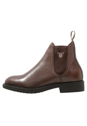 Gant Lydia Ankle Boots Tobacco Brown Dark Brown