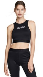 Kenzo Brassiere Sports Bra Top Black