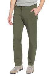 Bonobos Slim Fit Stretch Washed Chinos Duffle Green