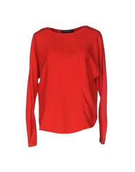 Ralph Lauren Black Label Blouses Red