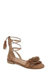Pelle Moda Women's Harah Sandal Latte Leather