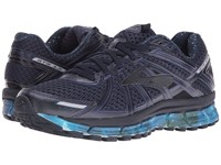 Brooks Adrenaline Gts 17 Night Sky Peacoat Navy Patriot Blue Women's Running Shoes Black