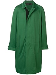 Haider Ackermann Single Breasted Coat Green