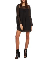 Bcbgeneration Crepe Shift Dress Black