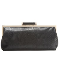 Inc International Concepts Kemme Clutch Black Snake