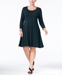 Styleandco. Style Co. Plus Size Swing Dress Only At Macy's Ink