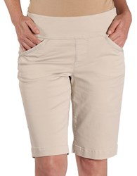 Jag Fitted Bermuda Shorts Stone