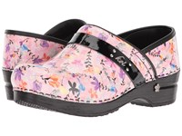 Sanita Koi Floret Rose Women's Clog Shoes Pink