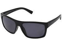 Von Zipper Speedtuck Polar Black Gloss Vintage Grey Wildlife Polarized Fashion Sunglasses