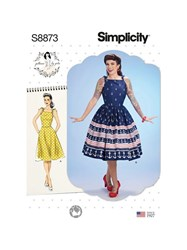 Simplicity ' Fit And Flare Dress Sewing Pattern 8873