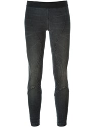 Faith Connexion Elastic Denim Leggings Black
