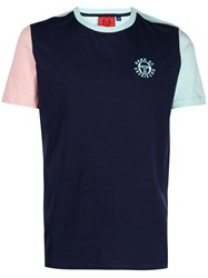 Band Of Outsiders Colour Block T Shirt Blue