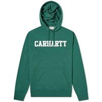 Carhartt Wip College Sweat Hoody Green