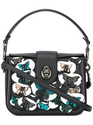 Coach Butterfly Tote Black