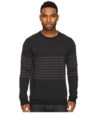 Rvca New Sins Crew Black Men's Clothing