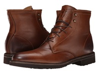 Frye Jim Lace Up Cognac Soft Vintage Leather Men's Lace Up Boots Brown