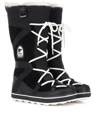 Sorel Glacy Explorertm Suede Boots Black