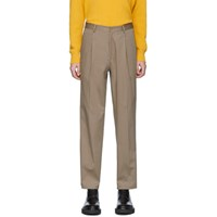 Etro Beige Relaxed Fit Trousers