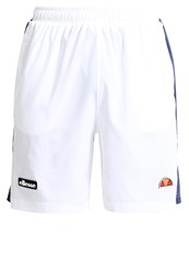 Ellesse Bosco Sports Shorts Optic White Peacoat Azure Blue
