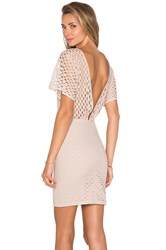 Hoss Intropia Layered Mini Dress Tan