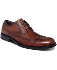 Dockers Moritz Wing Tip Lace Up Shoes Men's Shoes Tan