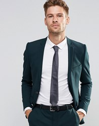 Selected Homme Suit Jacket In Superskinny Fit With Stretch Bottle Green