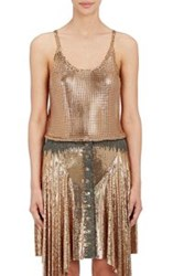 Paco Rabanne Chain Mail Tank Gold
