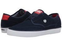 Circa Essential Dress Blue Ribbon Red Men's Skate Shoes