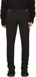 Hood By Air Black Accent Zipper Trousers