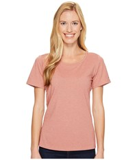 Columbia Shadow Time Iii Tee Lychee Women's Short Sleeve Pullover Pink