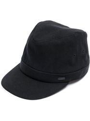 Ca4la High Cap Cotton Acrylic Polyester Wool Black
