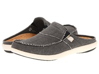 Spenco Siesta Slide Charcoal Grey Men's Clog Shoes Gray