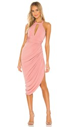 Katie May Go Getter Dress In Rose. Rosewood
