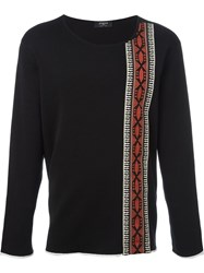 Ports 1961 Ethnic Details Sweater Black