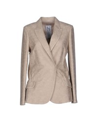 Uniqueness Suits And Jackets Blazers Women Sand