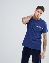 Boss By Hugo T Shirt In Regular Fit Navy