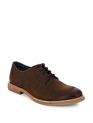 Ben Sherman Leather Lace Up Shoes Brown