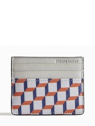 Pierre Hardy Perspective Cube Card Case White